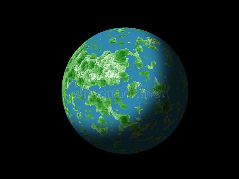 Planeta de la galaxia libre illustration