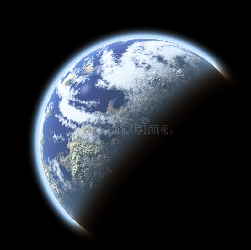 Planeta de la tierra imagen de archivo libre de regalías