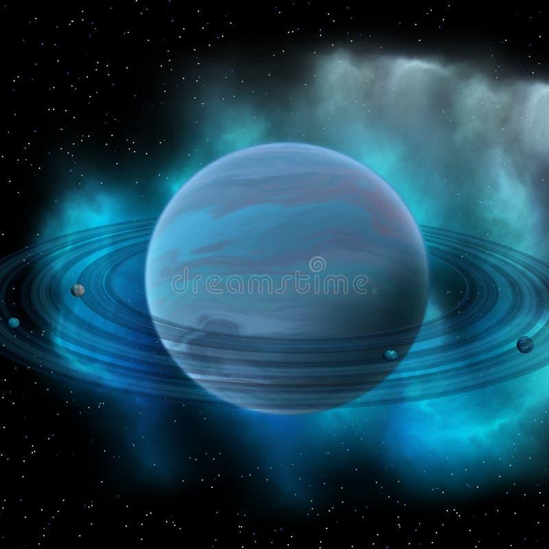 Planeta de Neptuno stock de ilustración