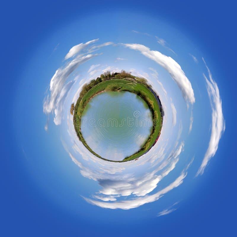 Planeta del agua imagen de archivo libre de regalías