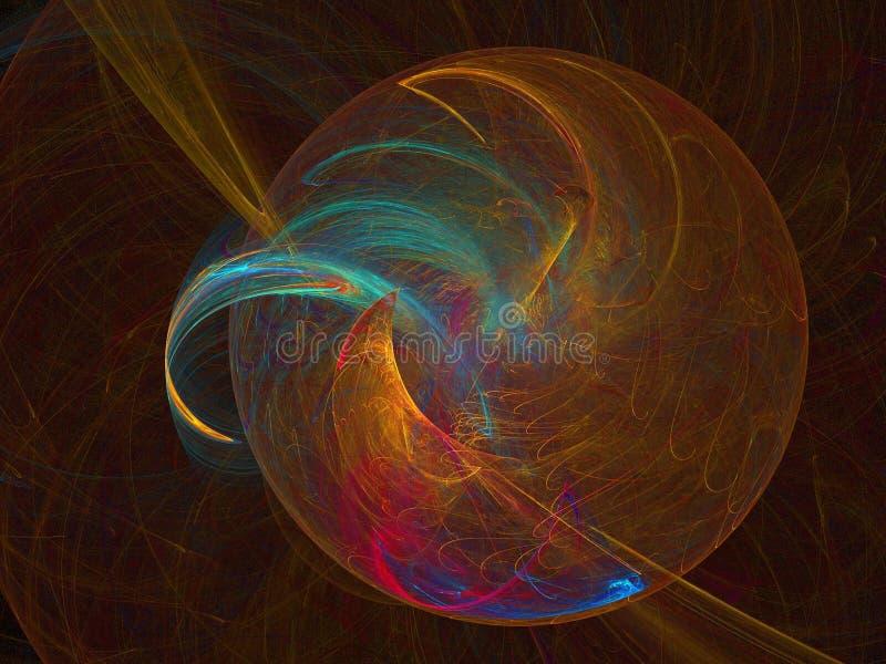 Planeta del arco iris libre illustration