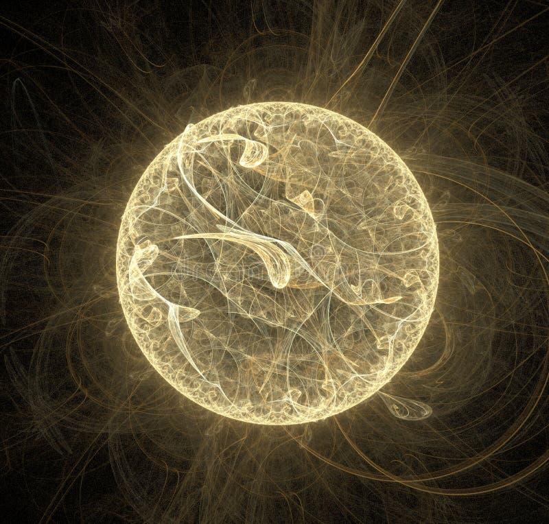 Planeta del fractal libre illustration