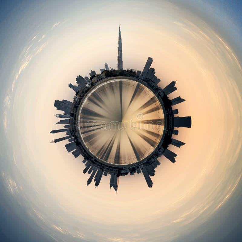 Planeta Dubaj zdjęcie royalty free