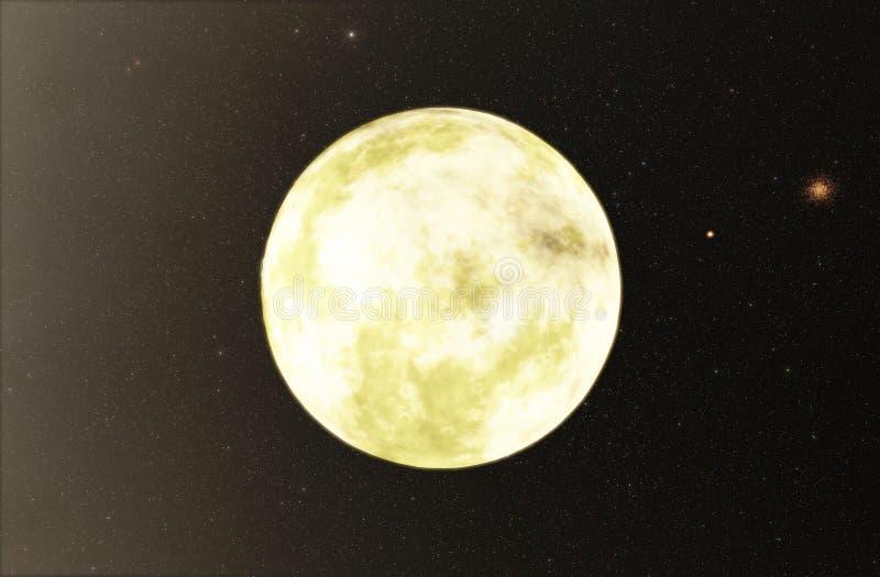 Planeta Extrasolar ilustração do vetor
