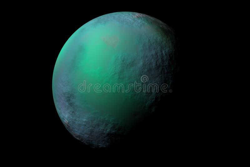 Download Planeta gazu ilustracji. Ilustracja złożonej z zaćmienie - 25954