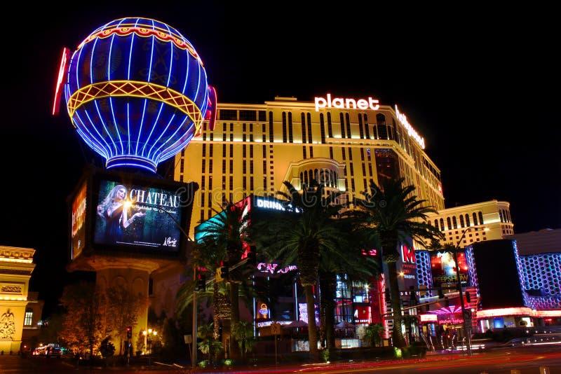 Planeta Hollywood Las Vegas fotos de stock