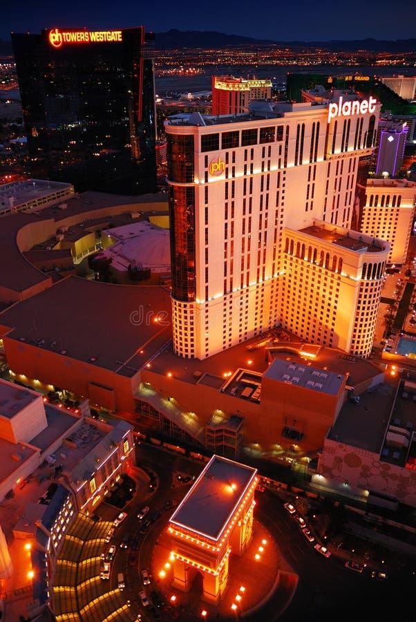 Planeta Hollywood y París Las Vegas, Nevada. imagen de archivo
