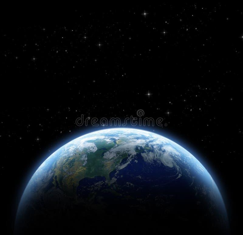Download Planeta i galaxy ilustracji. Ilustracja złożonej z atmosfera - 53779243