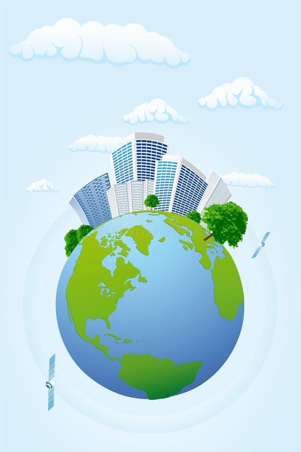 planeta jednostek gospodarczych ilustracji