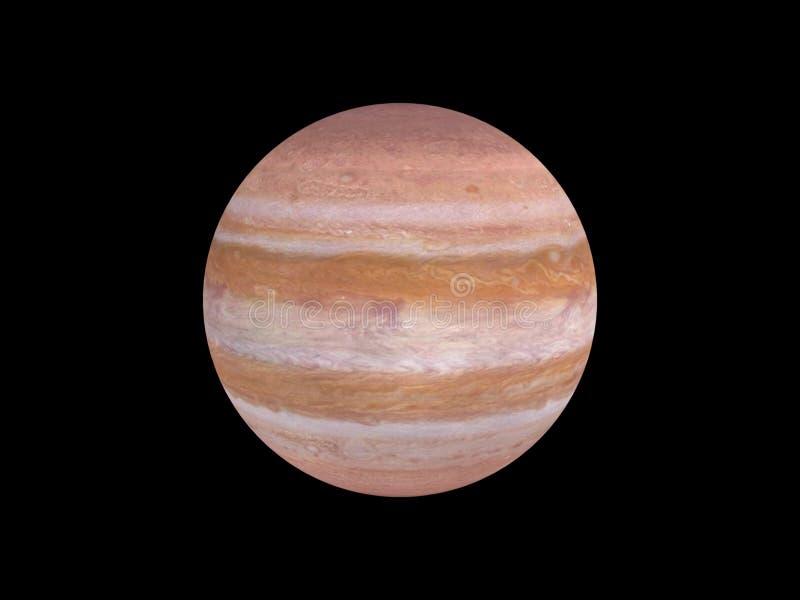 Planeta Jupiter ilustração stock