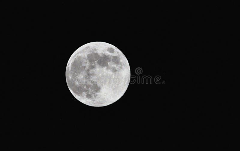 Planeta kosmos i księżyc obrazy stock