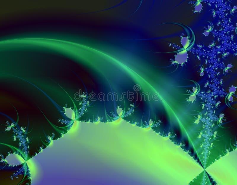 Planeta místico stock de ilustración