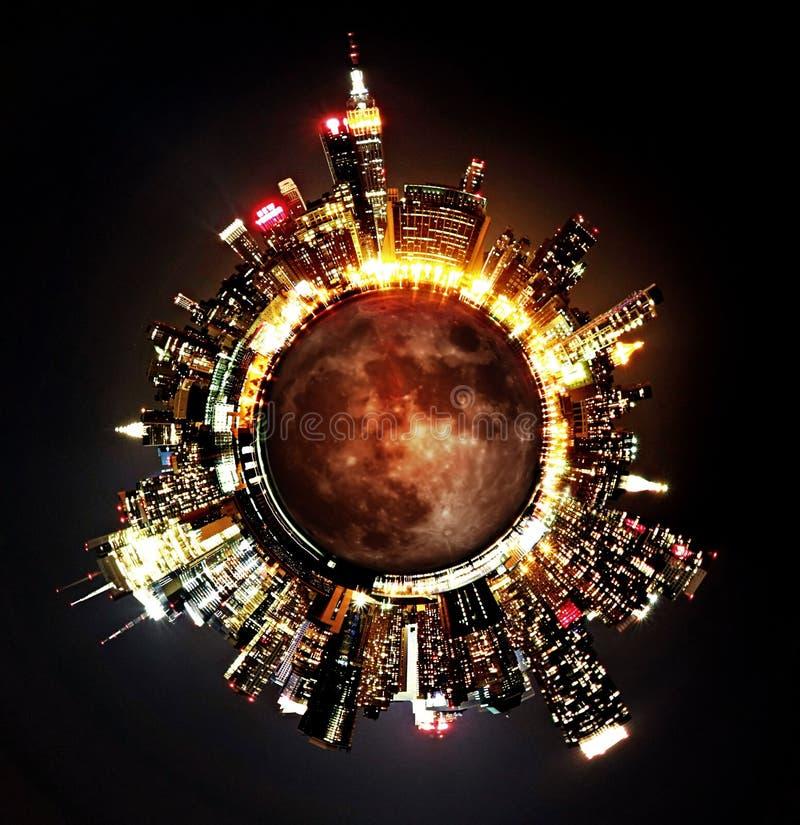 Planeta NYC imagens de stock
