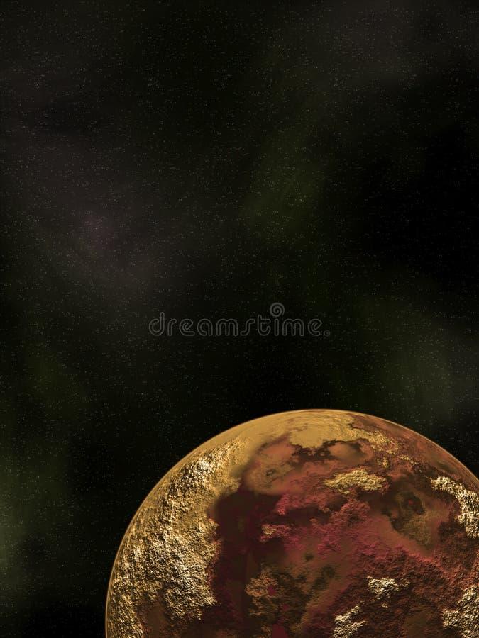 Planeta Púrpura Fotografía de archivo
