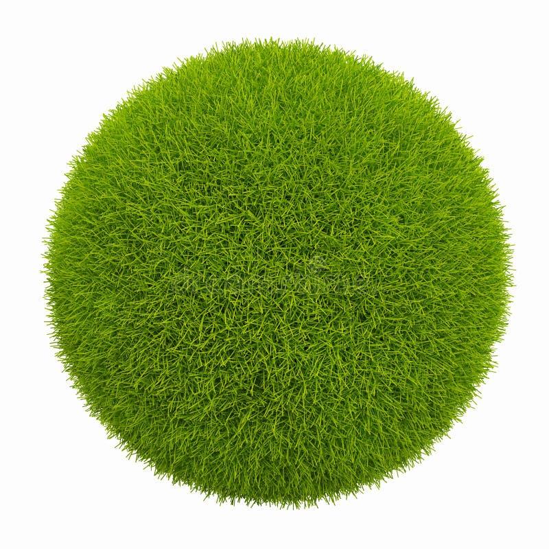 Planeta pequeno verde ilustração stock