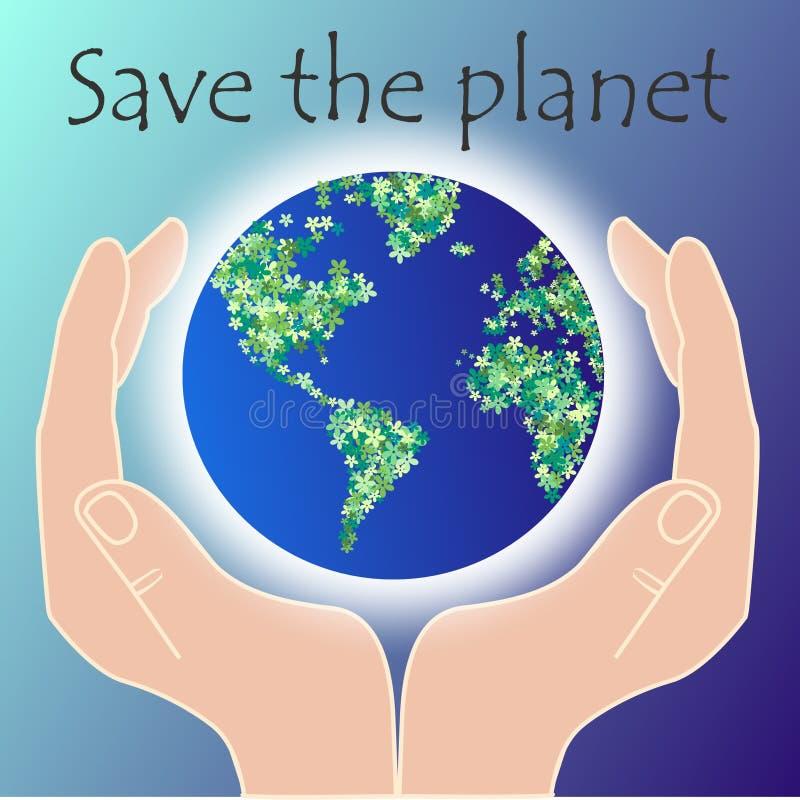 planeta save ilustracji