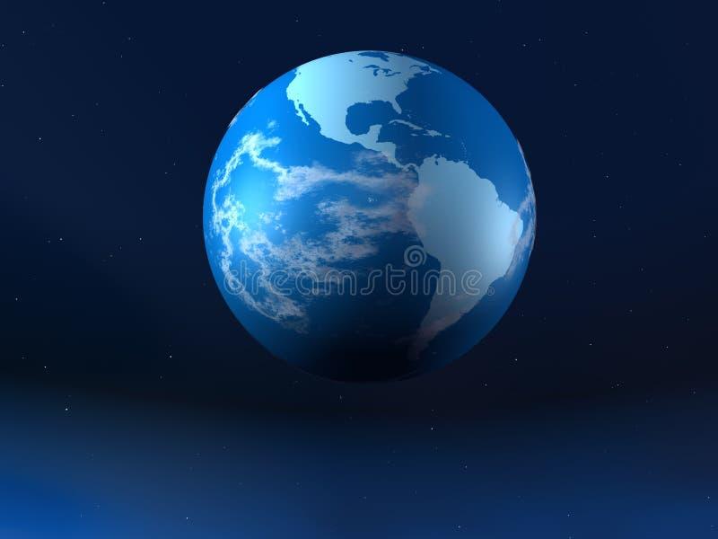 Planeta a terra ilustração stock
