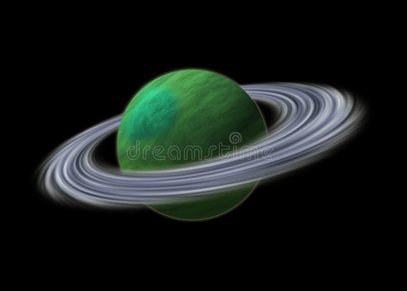 Planeta Uranus ilustração do vetor