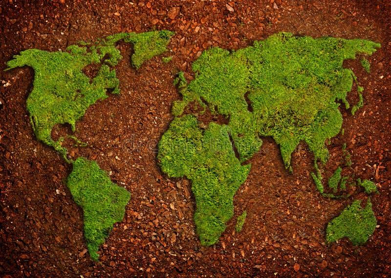 Planeta verde, planeta seguro foto de stock royalty free