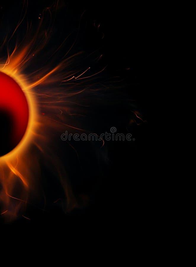 Planeta vermelho fotografia de stock