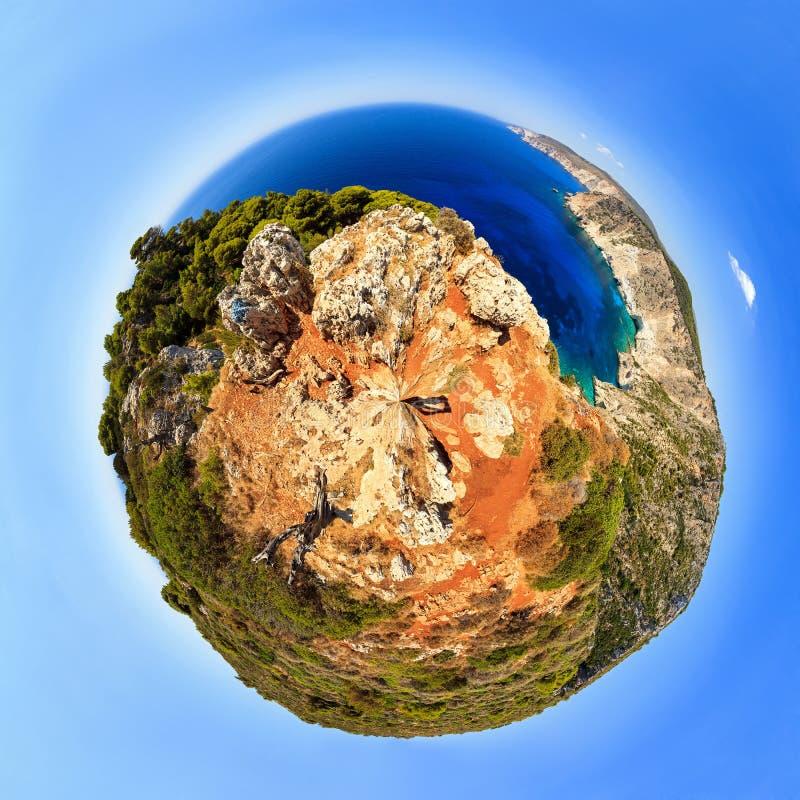 Planeta Zakynthos foto de archivo