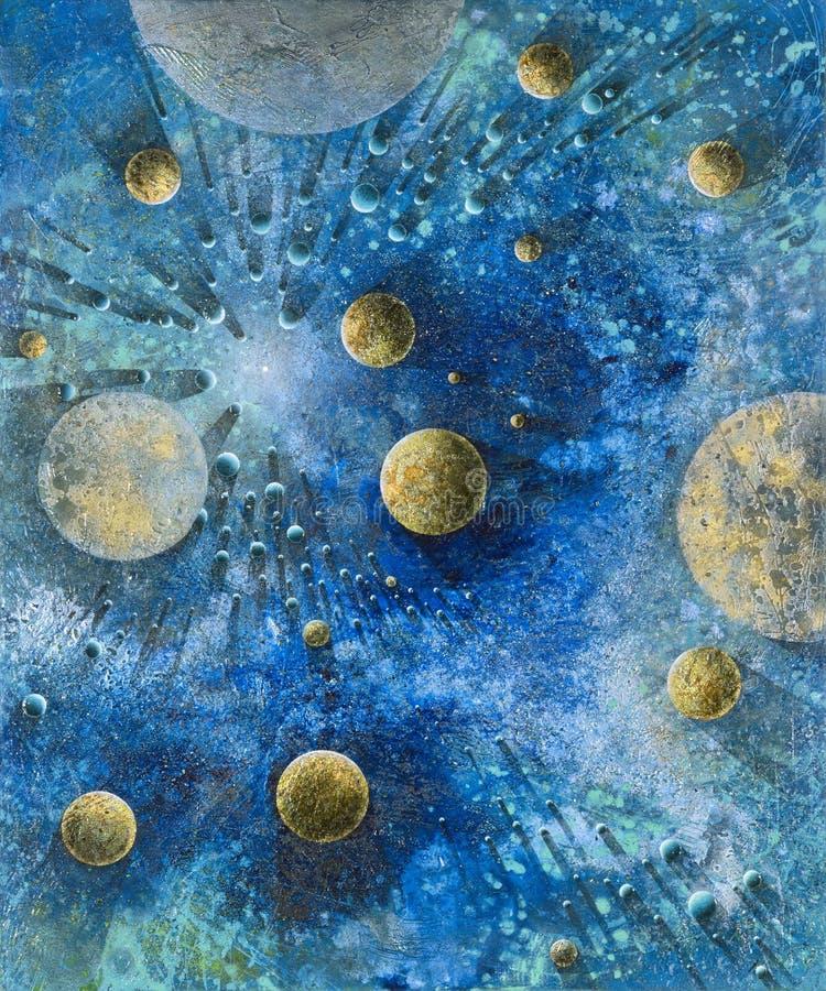 Planetario illustrazione di stock