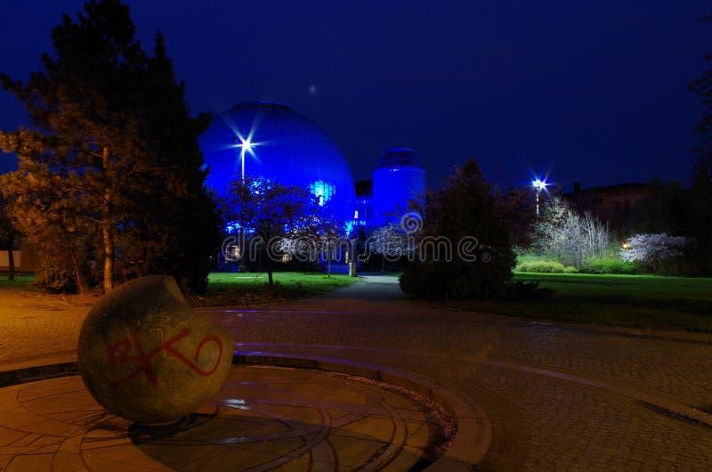 Planetario de Zeiss en Berlín fotografía de archivo