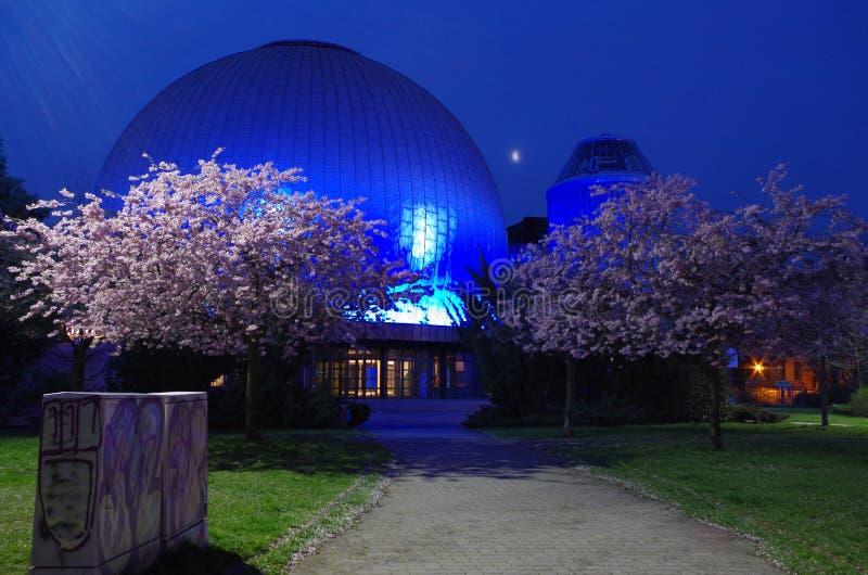 Planetario de Zeiss en Berlín imagen de archivo