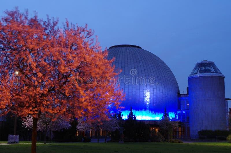 Planetario de Zeiss en Berlín imagenes de archivo