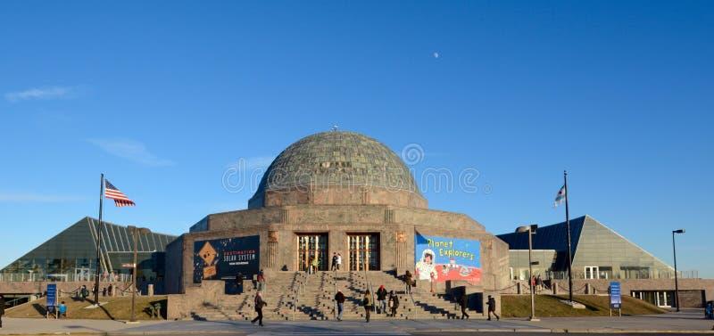 Planetario di Adler fotografie stock libere da diritti