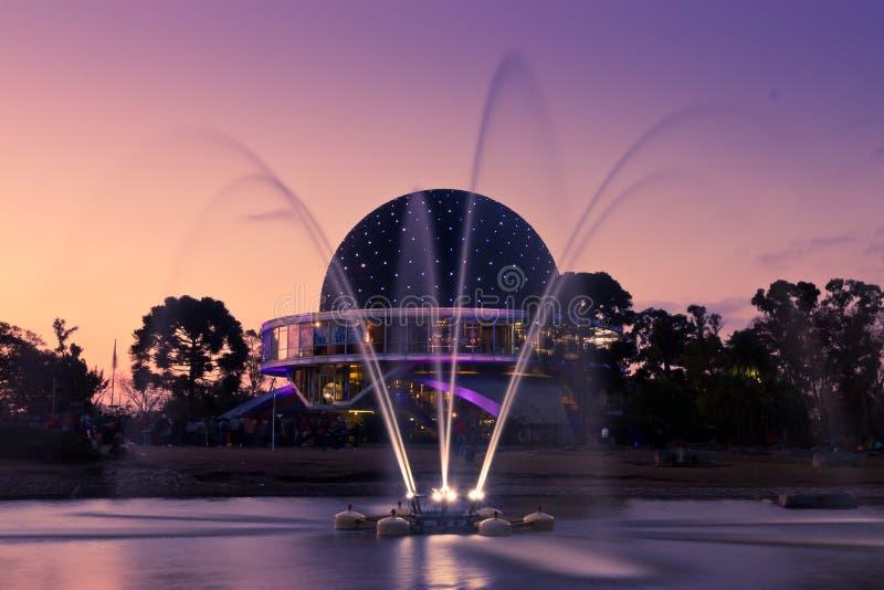 Planetario di Buenos Aires fotografia stock libera da diritti