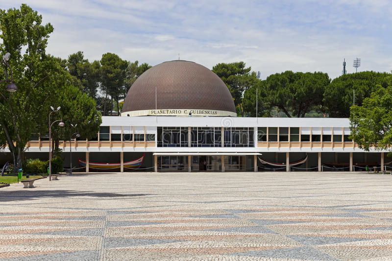 Planetario Lisbona Belem fotografia stock libera da diritti