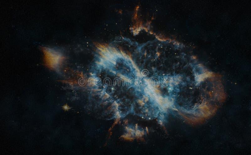 Planetarische Nevels royalty-vrije illustratie