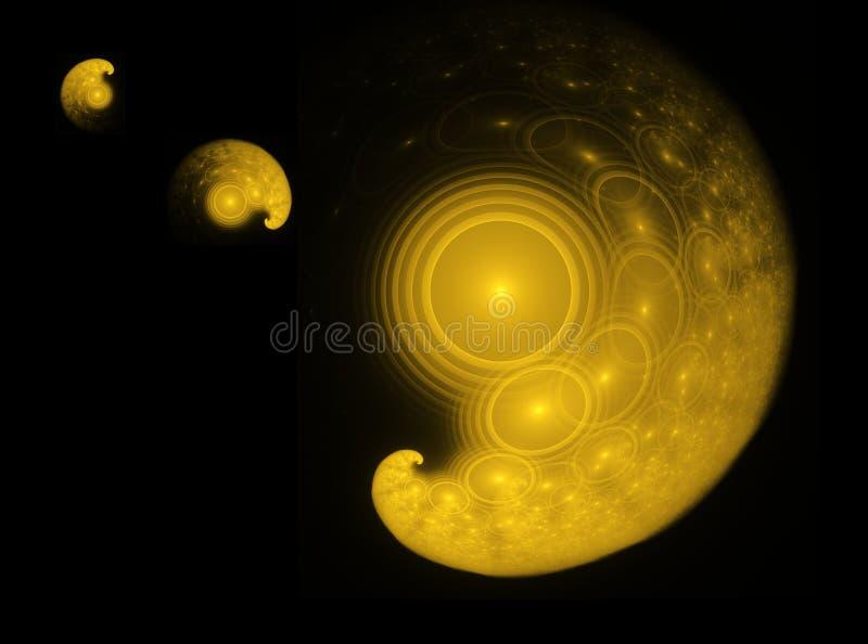 planetariskt system vektor illustrationer