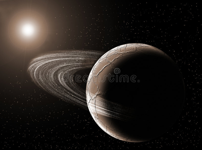 planetarium royalty ilustracja