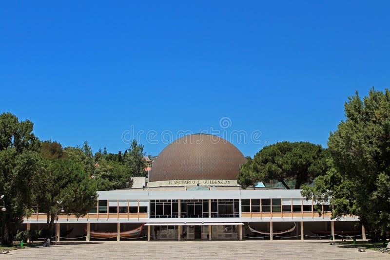Planetarium Calouste Gulbakian arkivbild