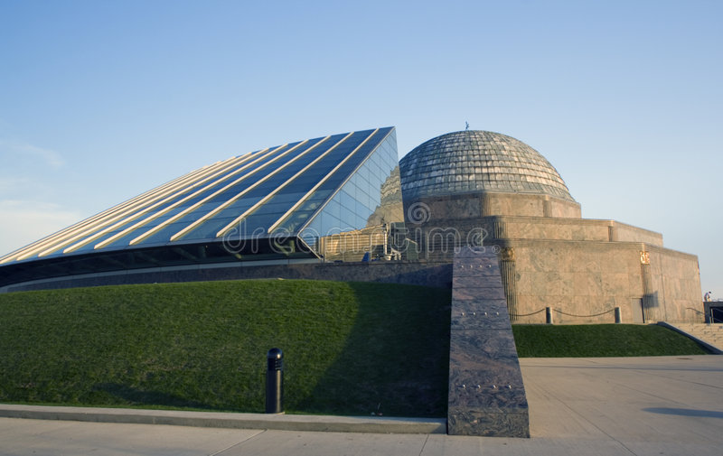 Planetarium di Adler fotografie stock libere da diritti