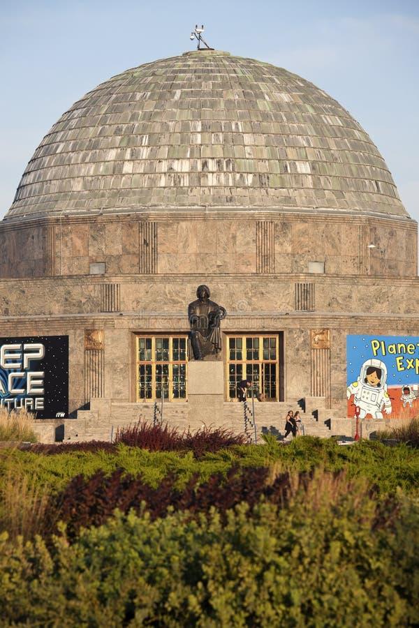 Planetarium di Adler in Chicago immagine stock