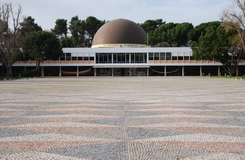 Planetarium di Calouste Gulbenkian fotografie stock libere da diritti