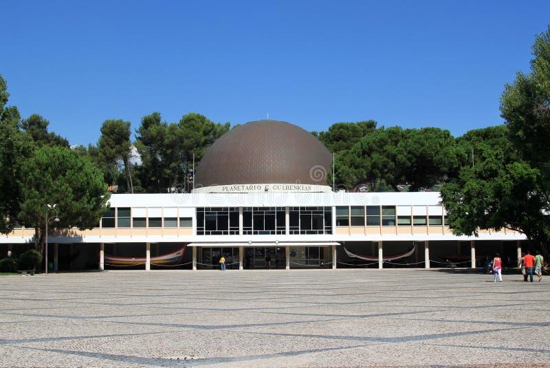 Planetarium di Calouste Gulbenkian, Belem, Lisbona immagini stock libere da diritti