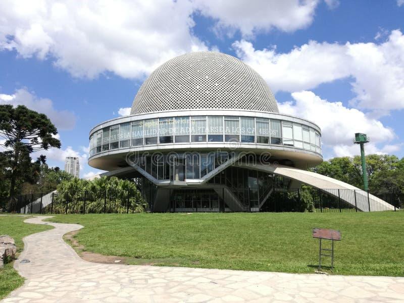 Planetarium Galileo Galilei von Buenos Aires stockfoto