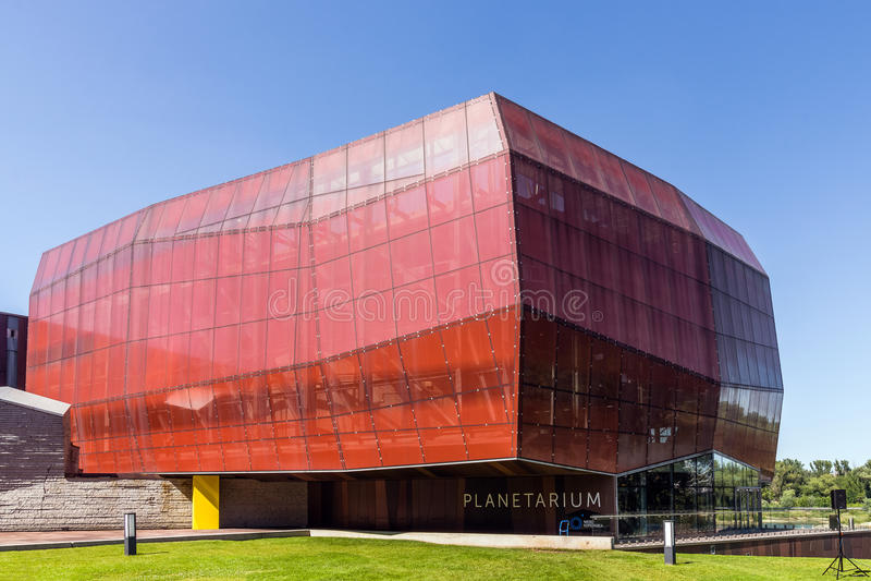 Planetarium (Hemel van Copernicus stock foto
