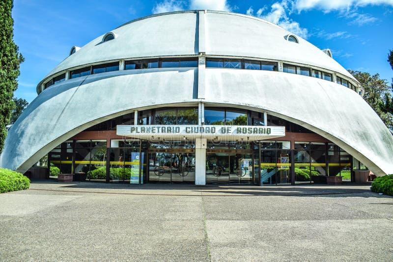 Planetarium Rosario, Argentina arkivbilder