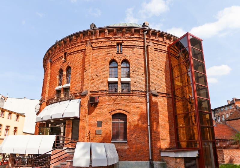 Planetarium in Torun-Stadt, Polen lizenzfreie stockbilder