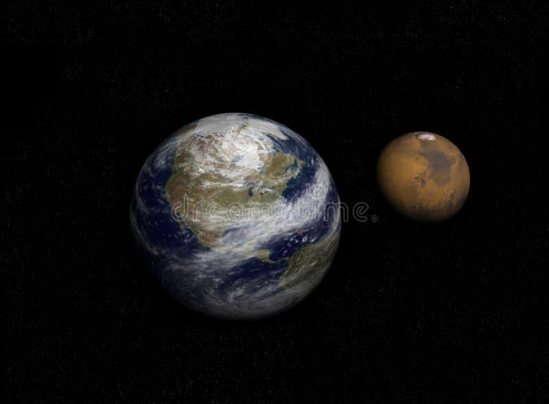 Planetas Foto de archivo libre de regalías