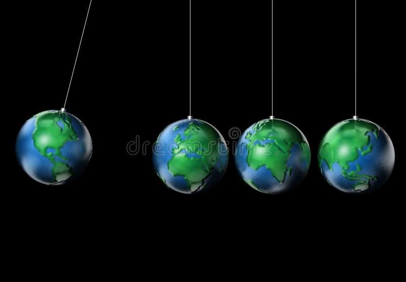 Planeten 4 van de aarde vector illustratie