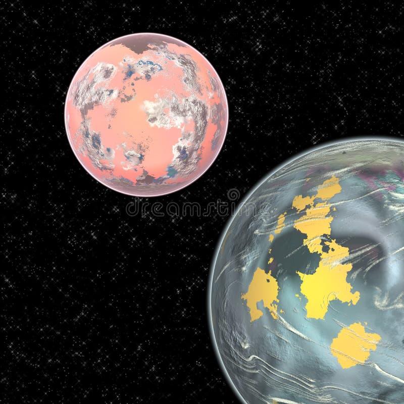 Planeten vector illustratie