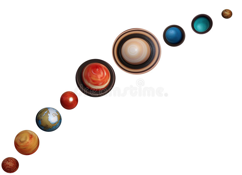Planeten lizenzfreie stockfotografie