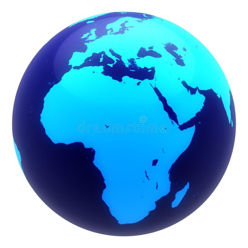 Planeten-Erde lizenzfreie abbildung