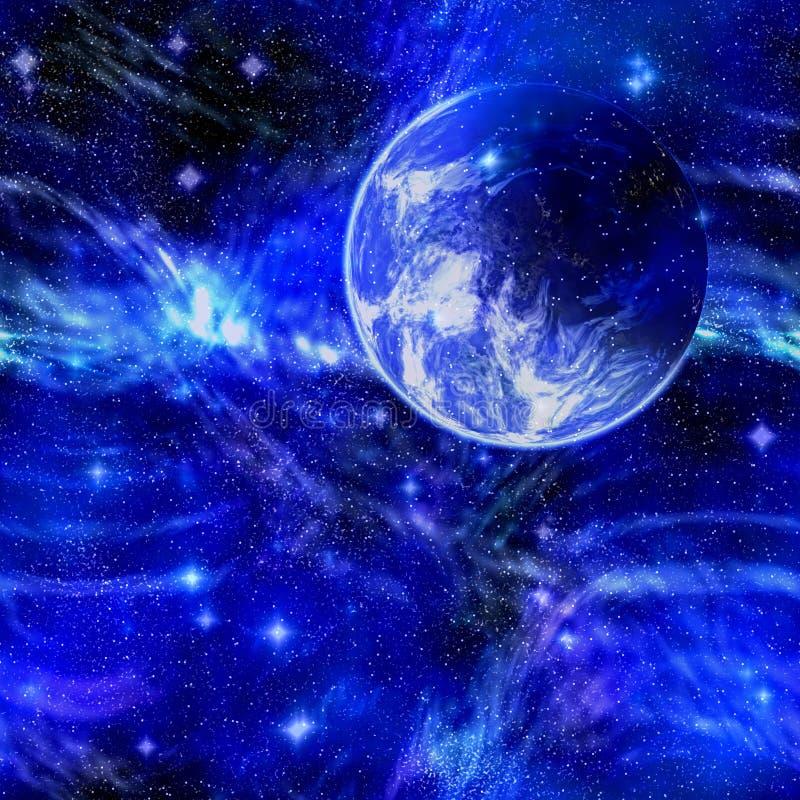 Planeten-Erde im Platz vektor abbildung
